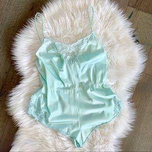 Vintage teddy lingerie